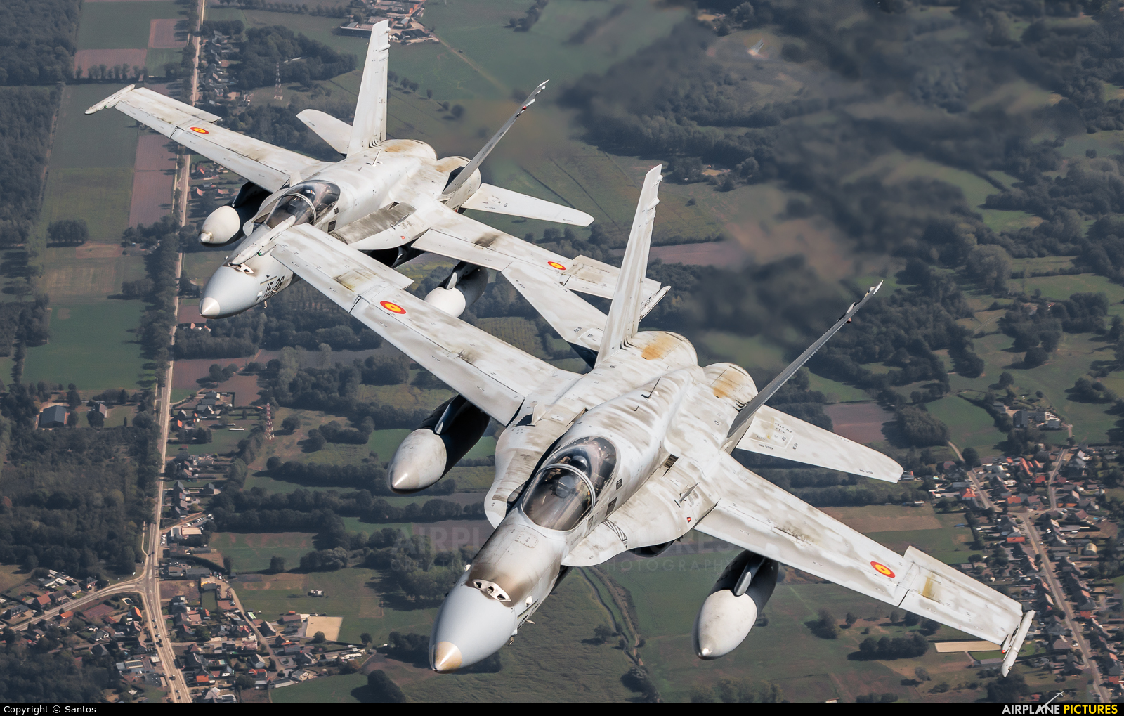 Spain - Air Force C.15-39 aircraft at In Flight - Belgium