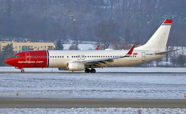 LN-NHF - Norwegian Air Shuttle Boeing 737-800