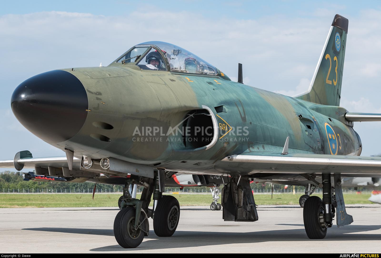 Swedish Air Force Historic Flight SE-RMD aircraft at Ostrava Mošnov