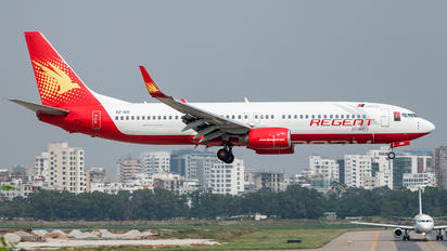 S2-AIO - Regent Airways Boeing 737-800