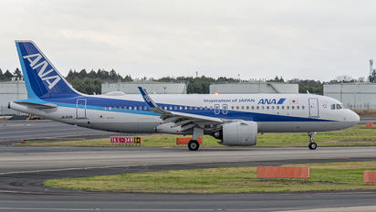 JA212A - ANA - All Nippon Airways Airbus A320 NEO