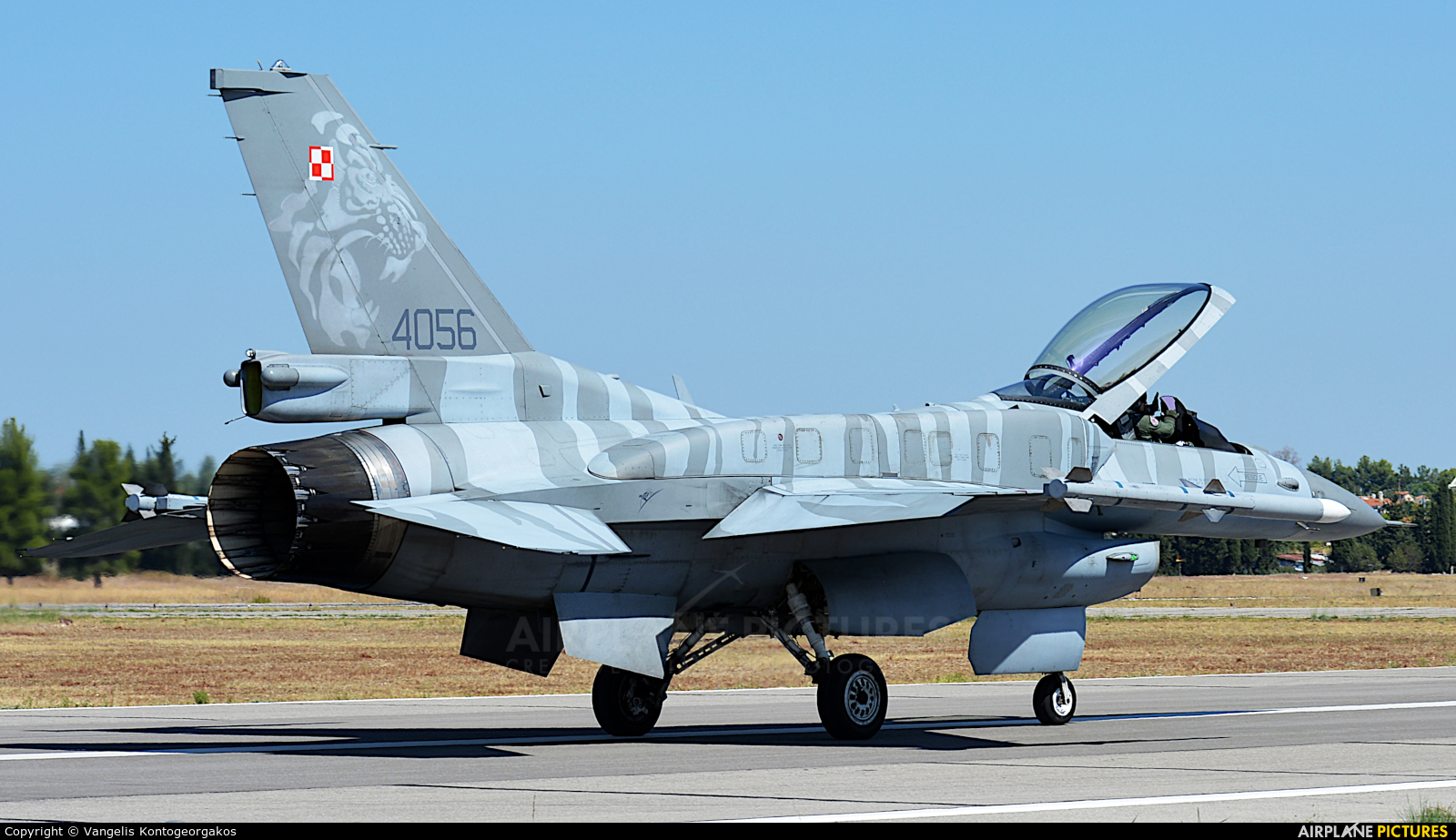 Poland - Air Force 4056 aircraft at Tanagra