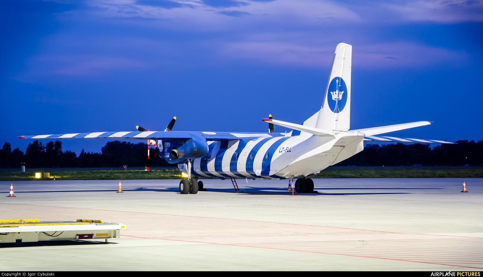 Bright Flight LZ-FLL aircraft at Warsaw - Frederic Chopin