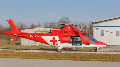 OM-ATF - Air Transport Europe Agusta / Agusta-Bell A 109
