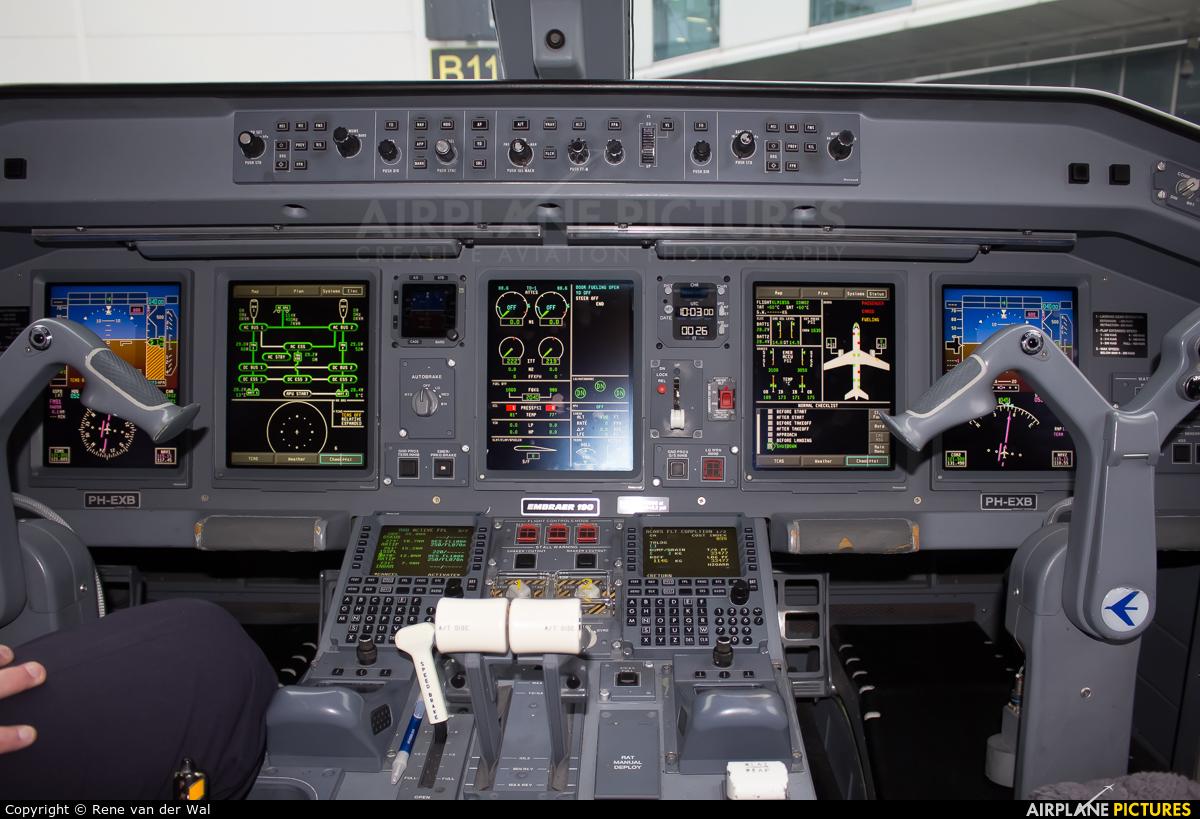 KLM Cityhopper PH-EXB aircraft at Düsseldorf