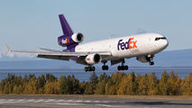N575FE - FedEx Federal Express McDonnell Douglas MD-11F aircraft