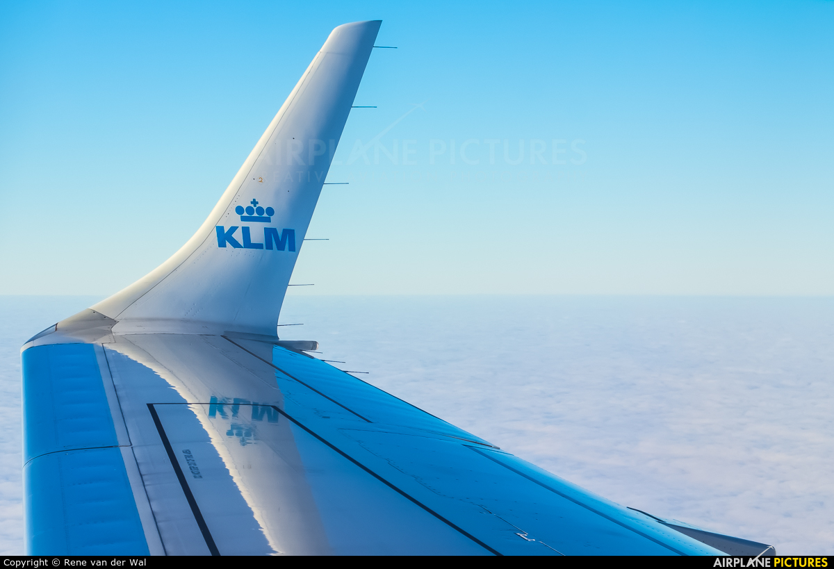 KLM Cityhopper PH-EXB aircraft at In Flight - Netherlands