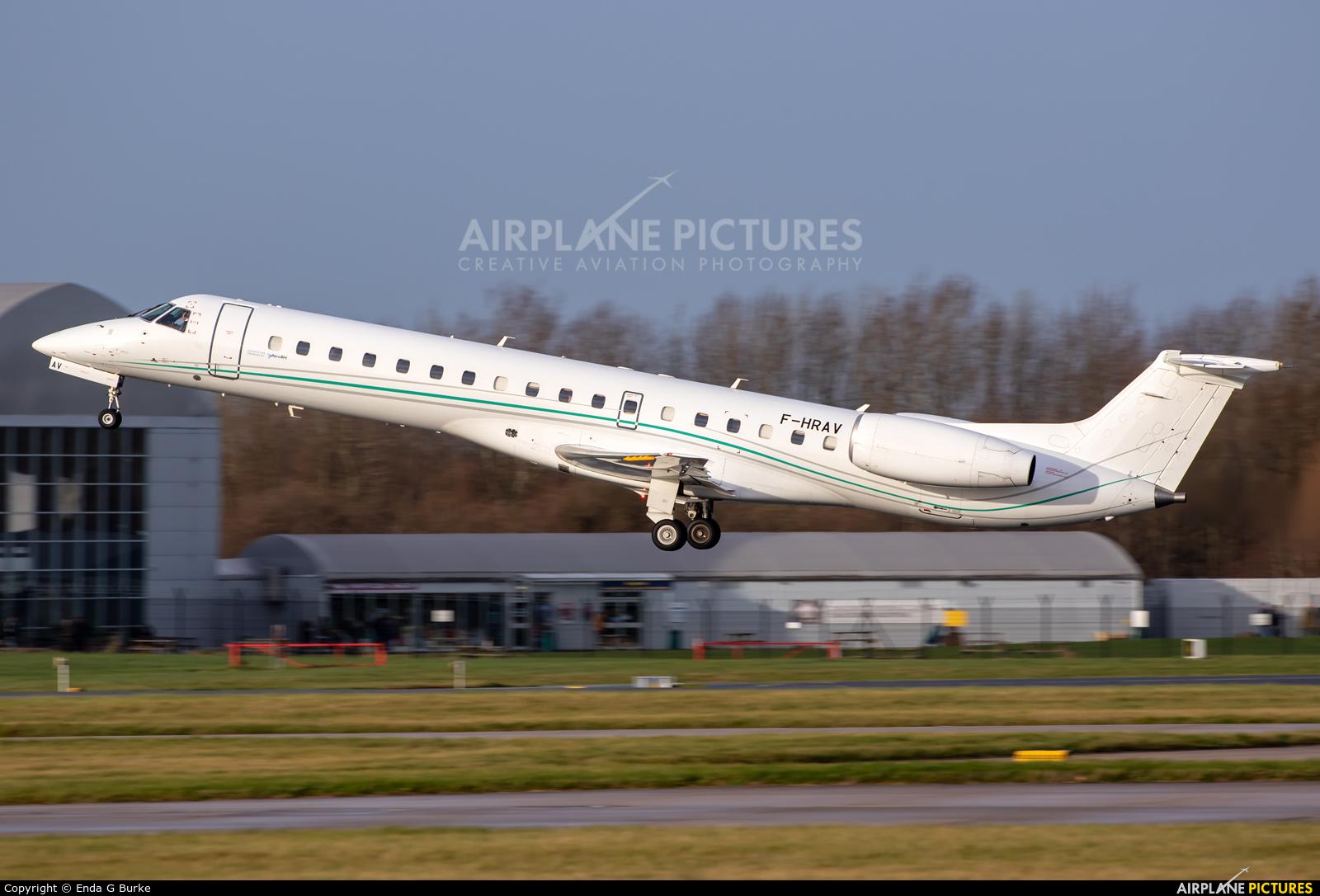 Aero4m F-HRAV aircraft at Manchester