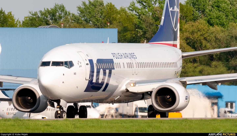 LOT - Polish Airlines SP-LWB aircraft at Warsaw - Frederic Chopin