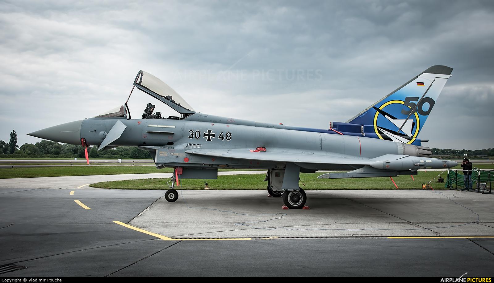 Germany - Air Force 30+48 aircraft at Neuburg - Zell