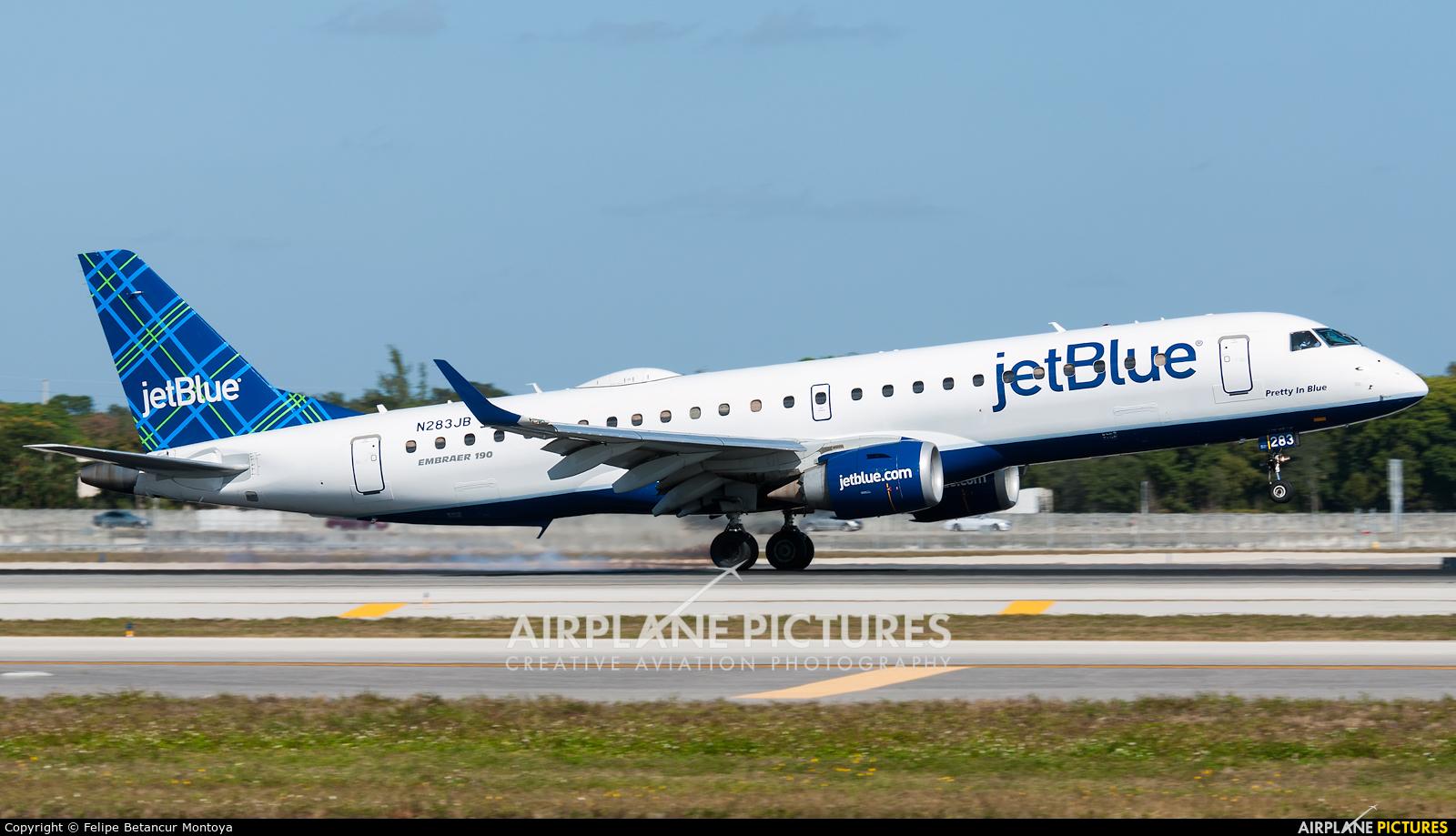 JetBlue Airways N283JB aircraft at Fort Lauderdale - Hollywood Intl