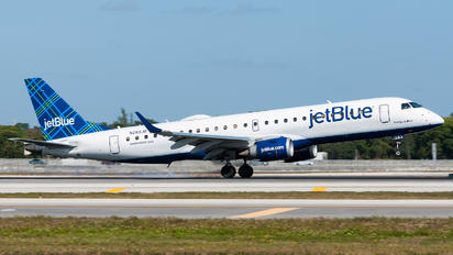 N283JB - JetBlue Airways Embraer ERJ-190 (190-100)
