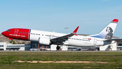 LN-BKA - Norwegian Air Shuttle Boeing 737-8 MAX