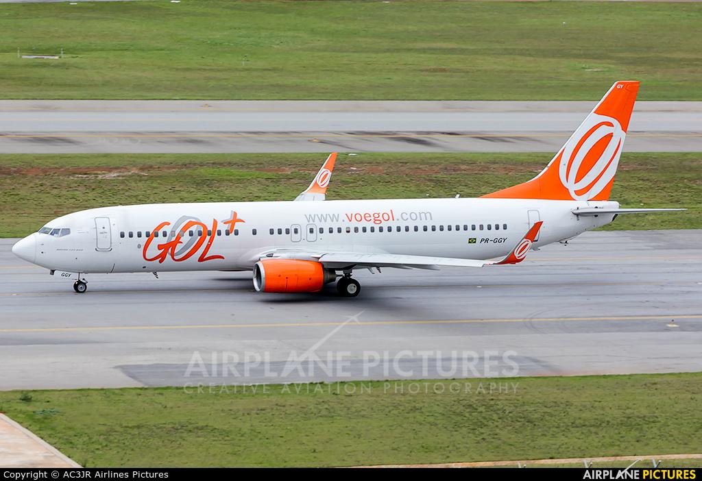 GOL Transportes Aéreos  PR-GGY aircraft at São Paulo - Guarulhos