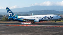 N592AS - Alaska Airlines Boeing 737-800 aircraft