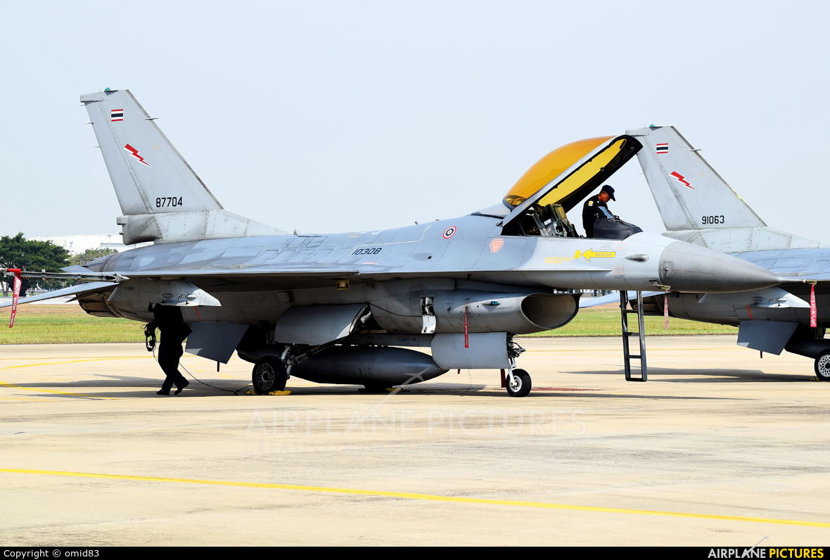 Thailand - Air Force KH19-8/31 aircraft at Bangkok - Don Muang