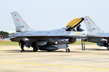 KH19-8/31 - Thailand - Air Force General Dynamics F-16A Fighting Falcon