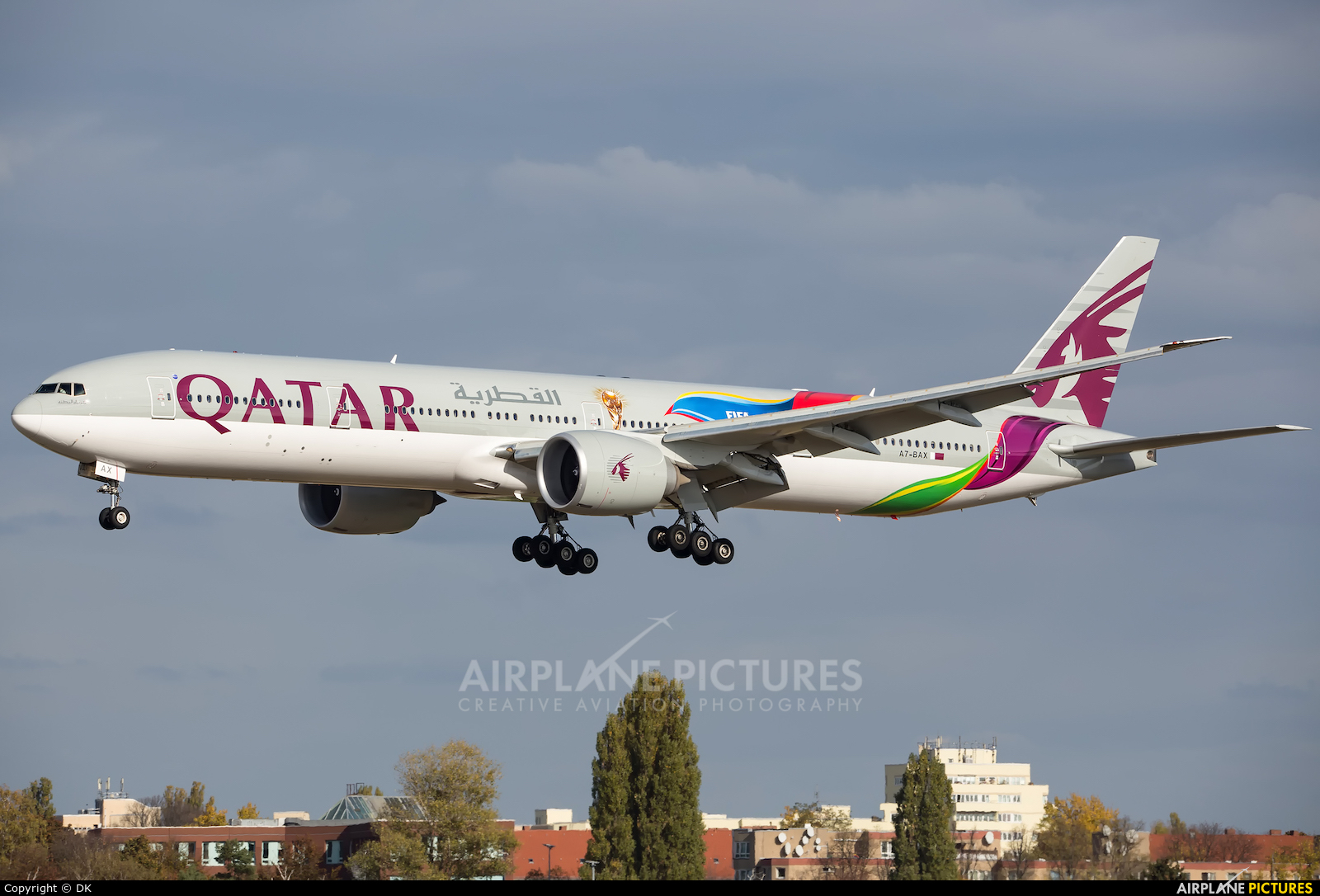 Qatar Airways A7-BAX aircraft at Berlin - Tegel