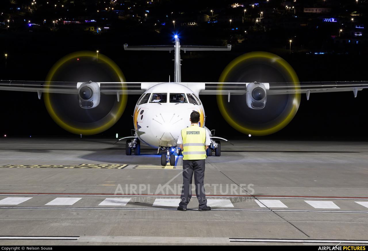 Air Europa (Swiftair) EC-MAF aircraft at Madeira