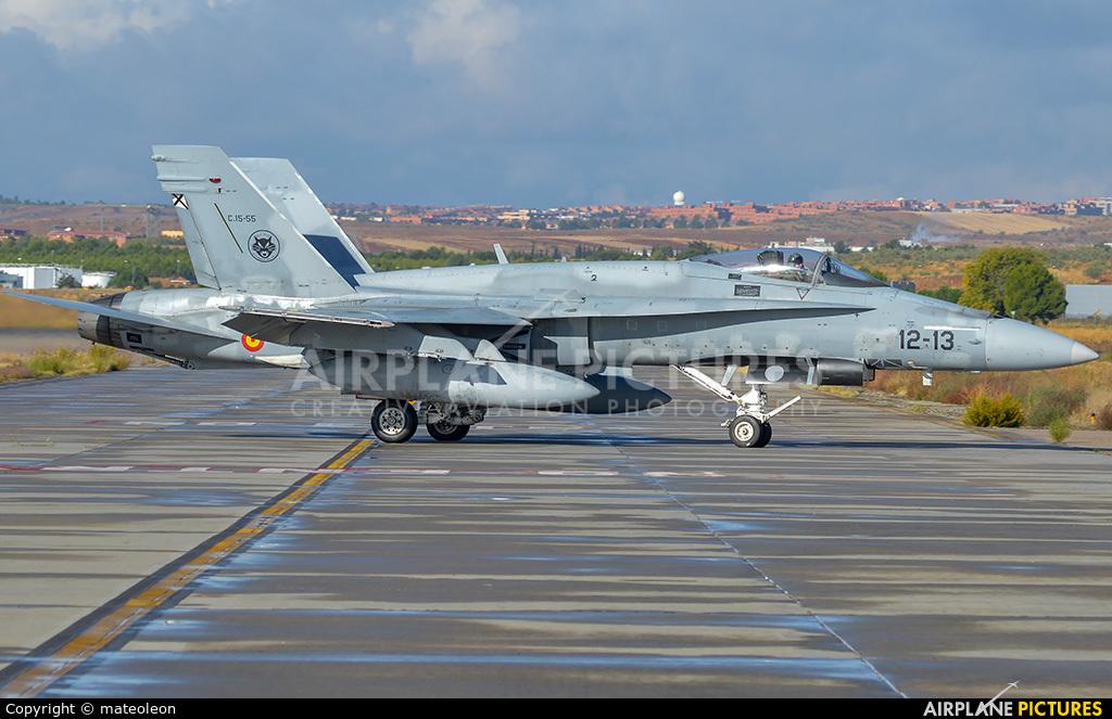 Spain - Air Force C-15-55 aircraft at Madrid - Torrejon
