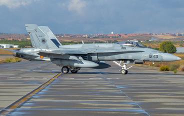 C-15-55 - Spain - Air Force McDonnell Douglas F/A-18A Hornet
