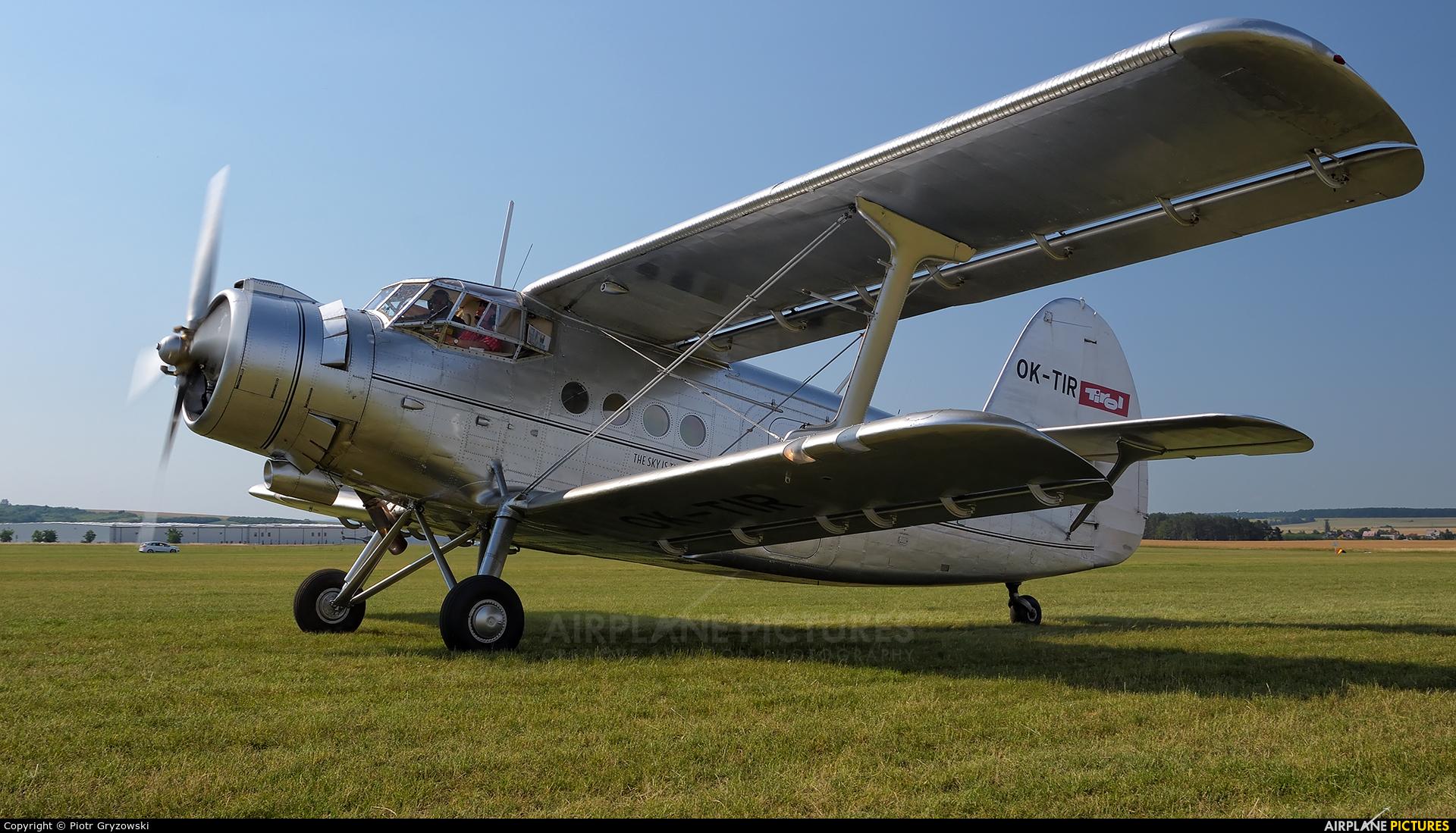Tiroler Adler OK-TIR aircraft at Mladá Boleslav