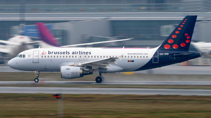 OO-SSI - Brussels Airlines Airbus A319