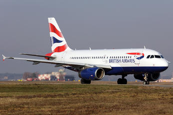 G-EUPH - British Airways Airbus A319