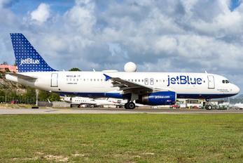N652JB - JetBlue Airways Airbus A320