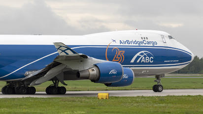 VQ-BUU - Air Bridge Cargo Boeing 747-400F, ERF
