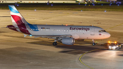 D-ABGQ - Eurowings Airbus A319