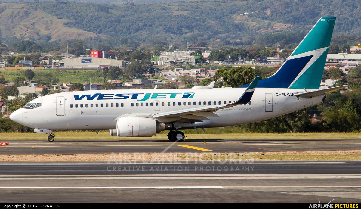 WestJet Airlines C-FLWJ aircraft at San Jose - Juan Santamaría Intl