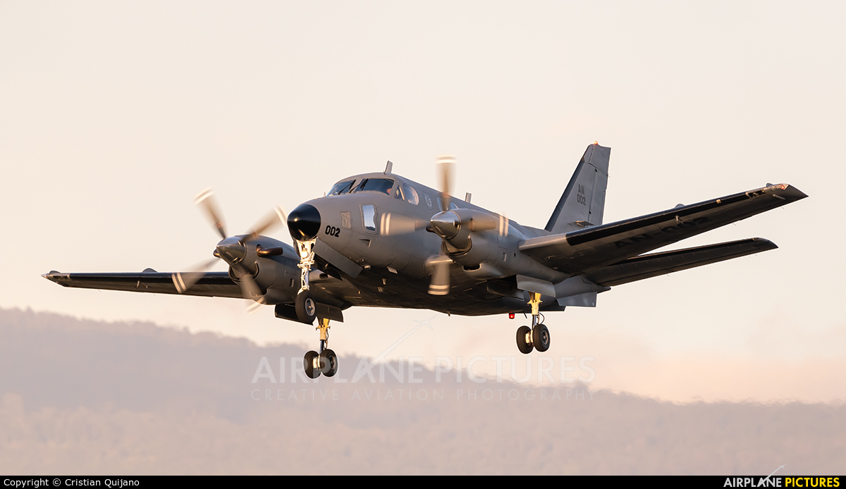 Panama - Air Force AN-002 aircraft at San Jose - Juan Santamaría Intl