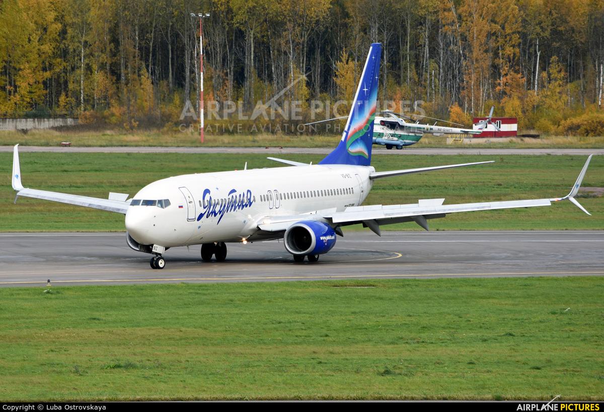 Yakutia Airlines VQ-BIZ aircraft at St. Petersburg - Pulkovo