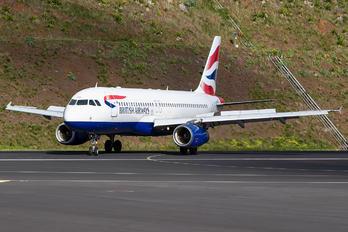 G-GATP - British Airways Airbus A320
