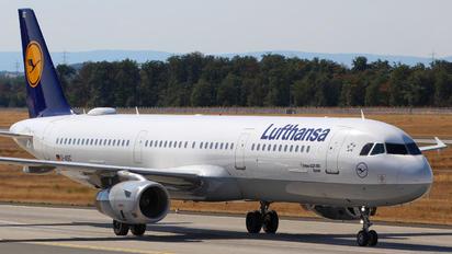 D-AISC - Lufthansa Airbus A321
