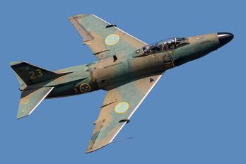 SE-RMD - Swedish Air Force Historic Flight SAAB J 32 Lansen