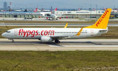 TC-IZD - Pegasus Boeing 737-800