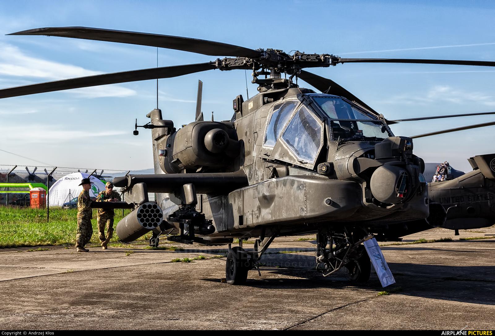 Netherlands - Air Force AH-64D aircraft at Ostrava Mošnov