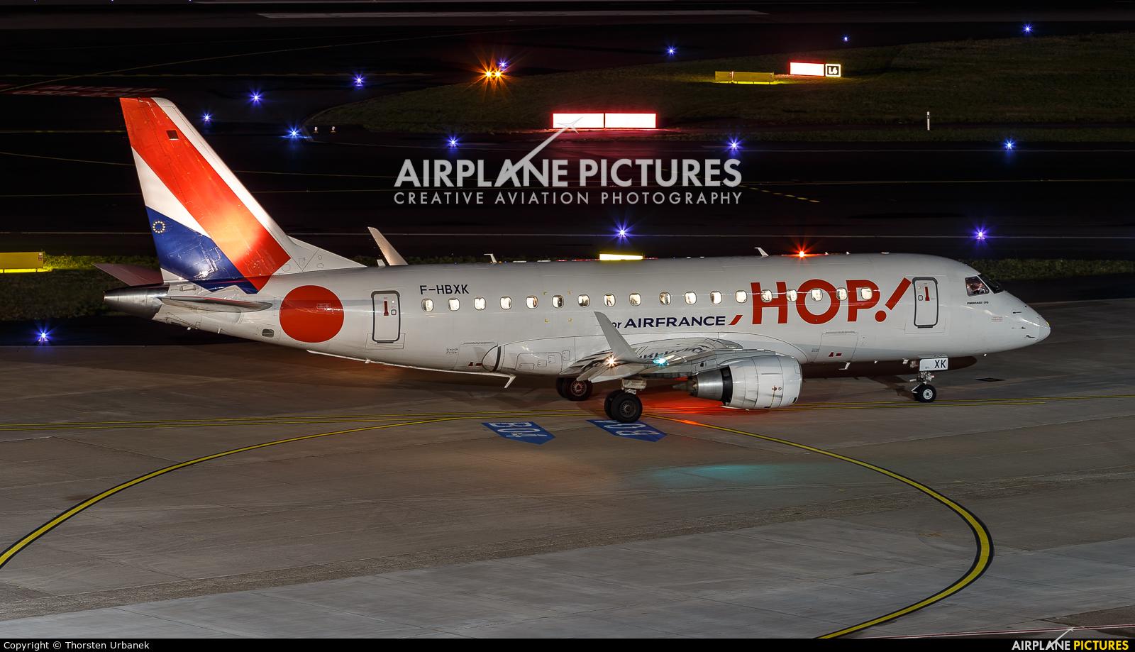 Air France - Hop! F-HBXK aircraft at Düsseldorf