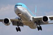 HL7532 - Korean Air Boeing 777-300 aircraft