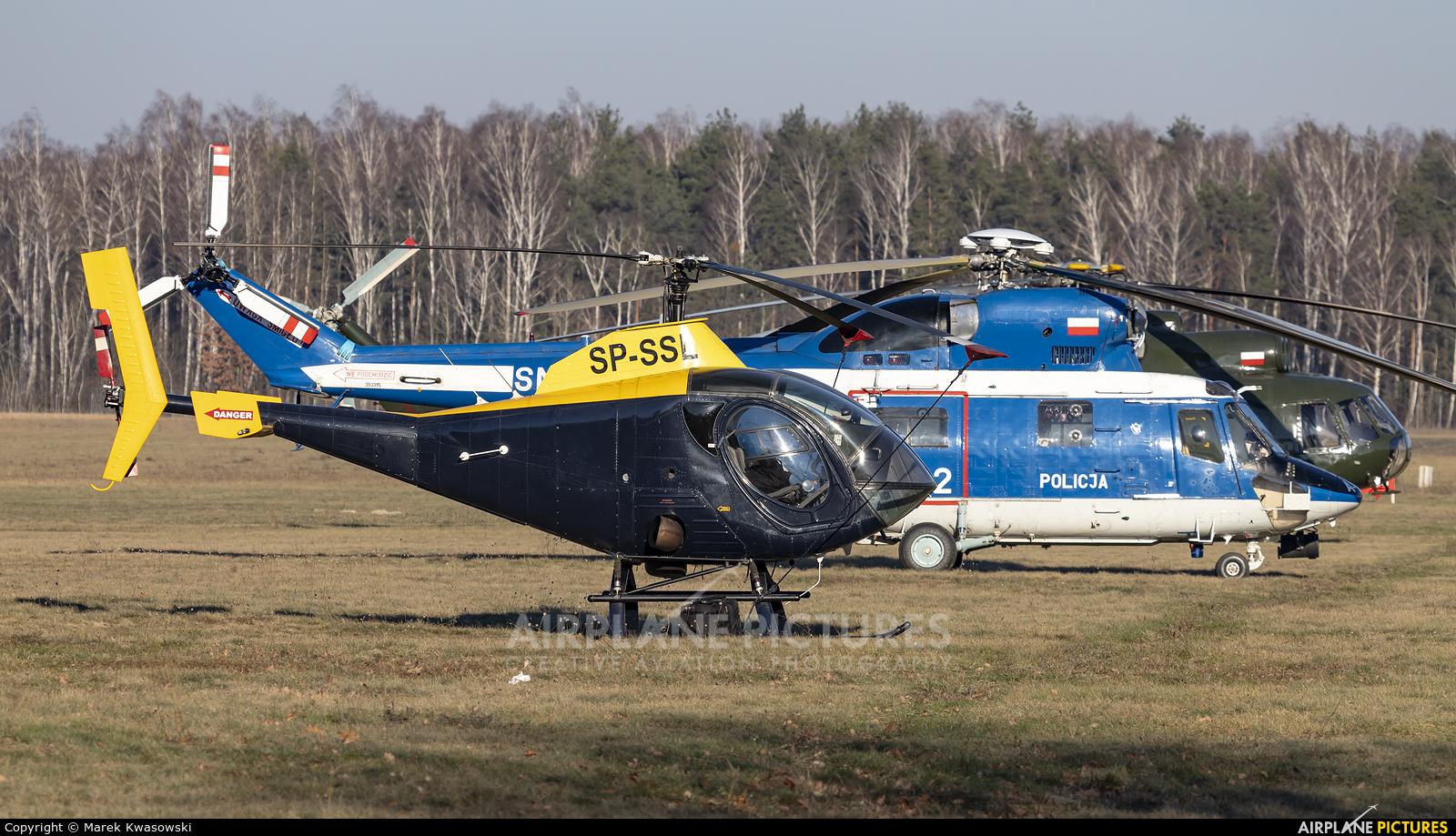 Private SP-SSL aircraft at Warsaw - Babice