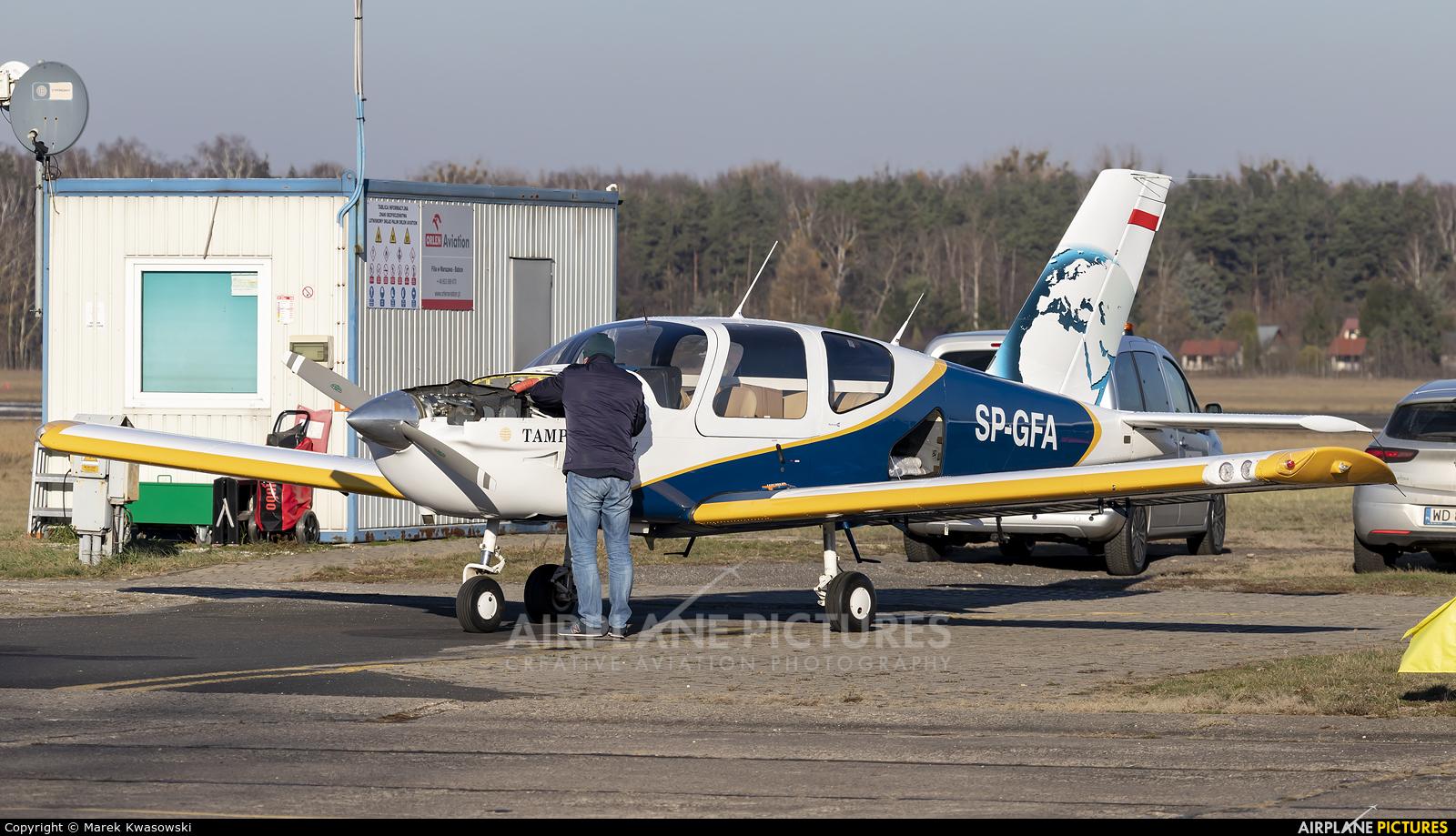 Private SP-GFA aircraft at Warsaw - Babice