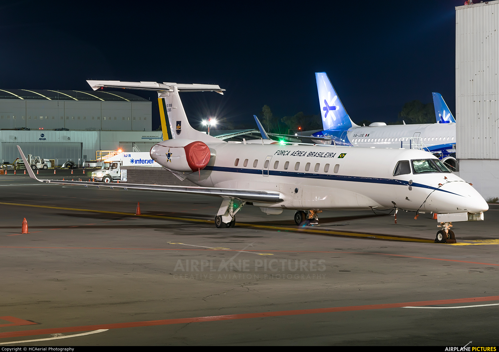 Brazil - Air Force 2585 aircraft at Mexico City - Licenciado Benito Juarez Intl
