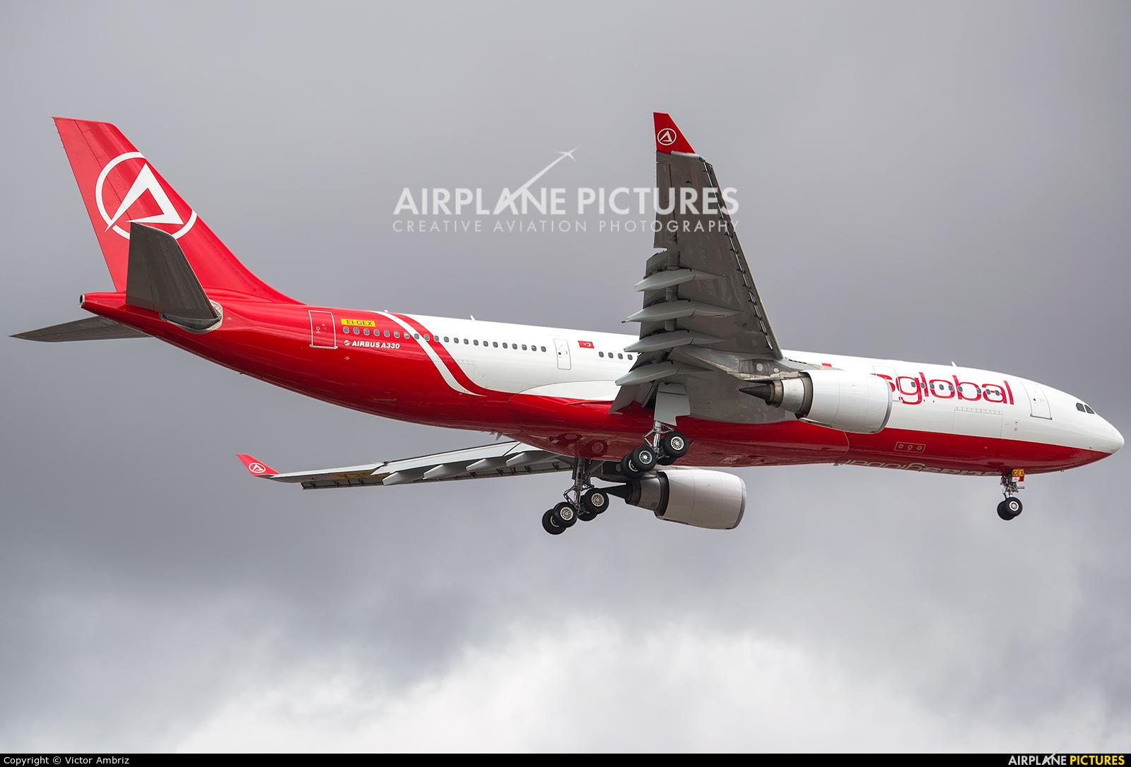 Atlasglobal EI-GEX aircraft at Mexico City - Licenciado Benito Juarez Intl