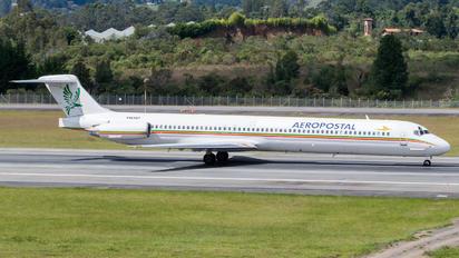 YV640T - Aeropostal McDonnell Douglas MD-82