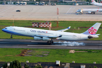 B-18803 - China Airlines Airbus A340-300
