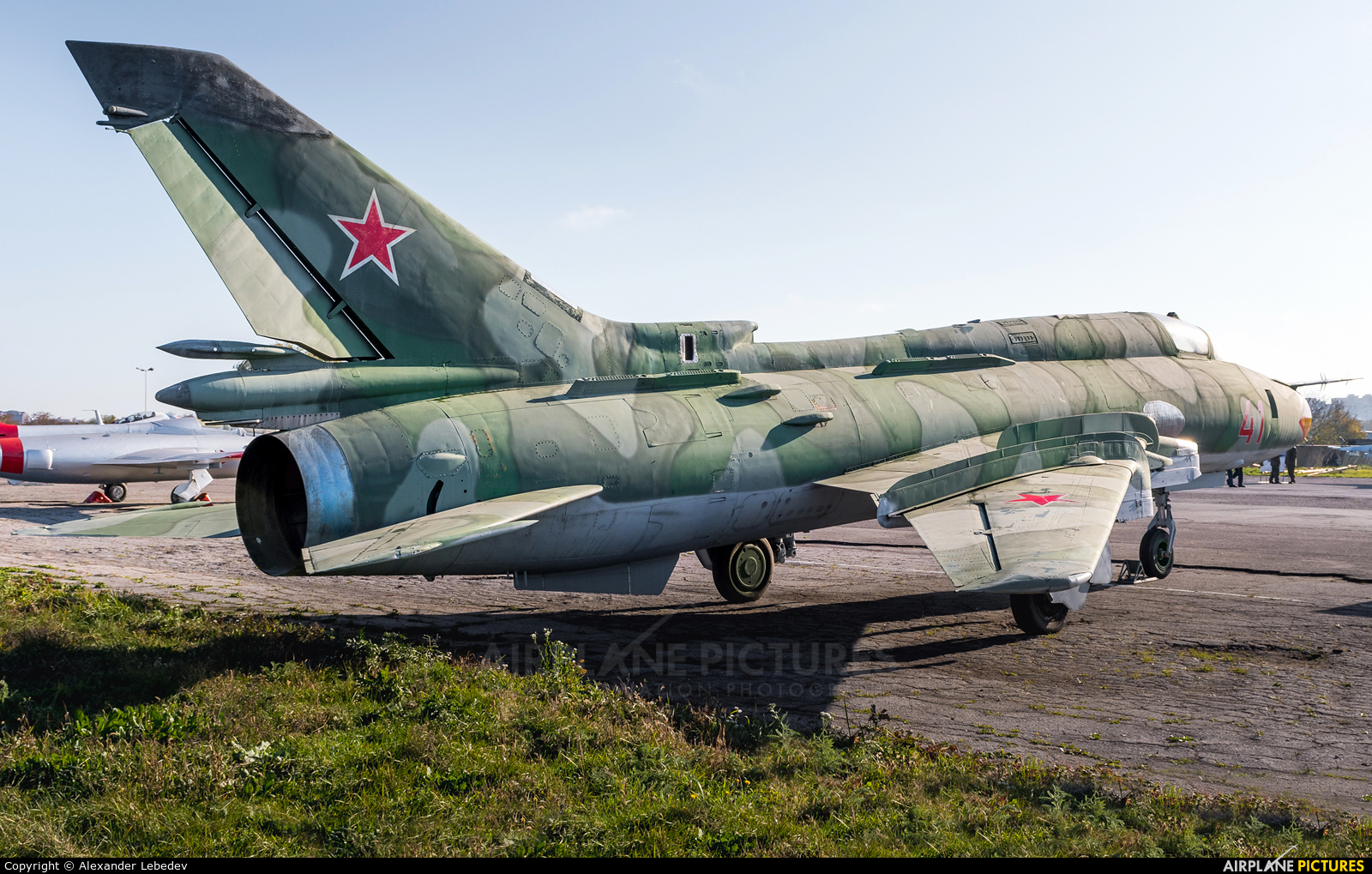 Russia - Air Force 41 aircraft at Krasnodar Tsentralny