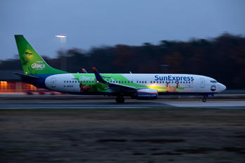 D-ASXA - SunExpress Germany Boeing 737-800