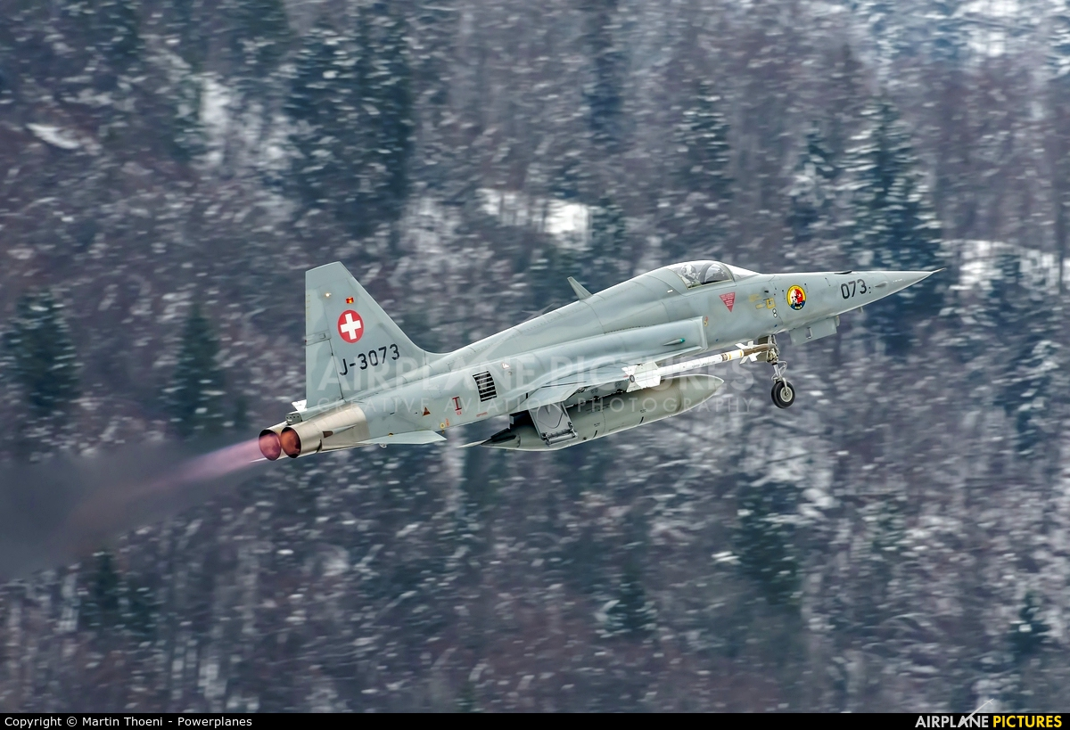 Switzerland - Air Force J-3073 aircraft at Meiringen